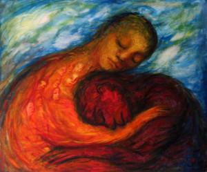 abbraccio, conforto, accettare l'ansia