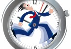 correre contro il tempo, stress, ansia