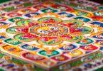 Mandala dipinto, la pazienza contro rabbia e disperazione