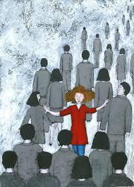 La solitudine nella folla, il dolore e l'isolamento